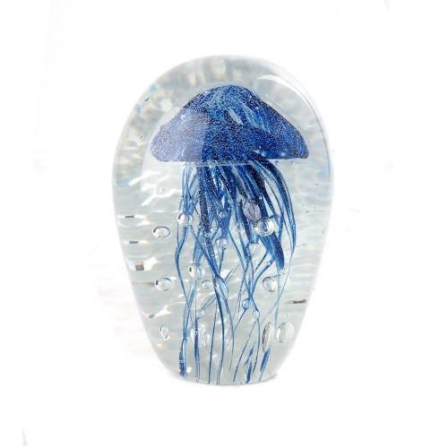 Jellyfish blue millefiori