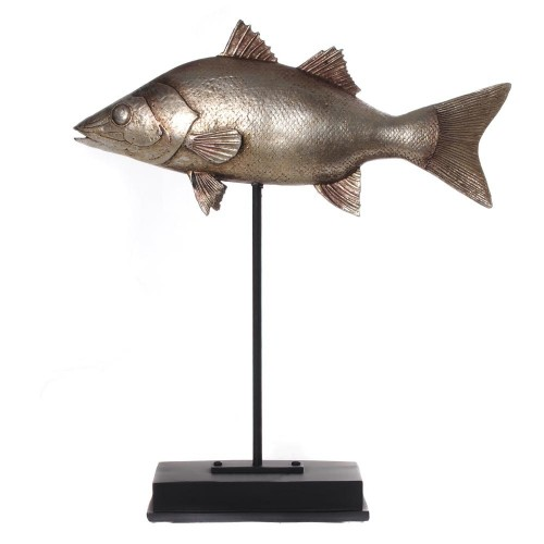 Fish on stand a silver