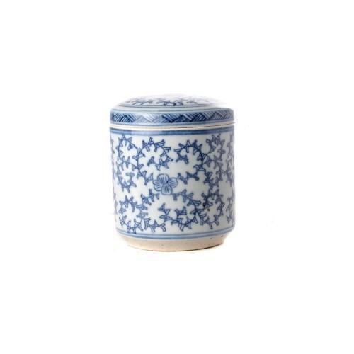 Tea box floral straight