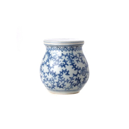 Tea box floral in teardrop