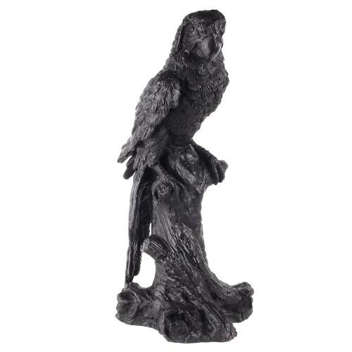 Perroquet sur branche bronze